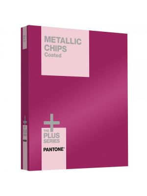 PANTONE PLUS Metallics Chips (powlekane)