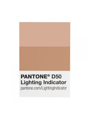 Naklejka PANTONE Lighting Indicator Stickers - LNDS-1PK-D50