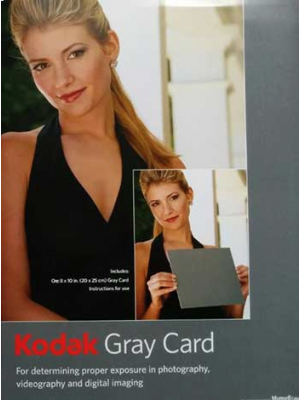 Kodak Grey Card R-27