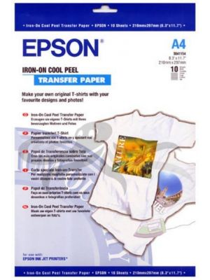 Epson Iron-on-transfer Paper A4, 10 arkuszy