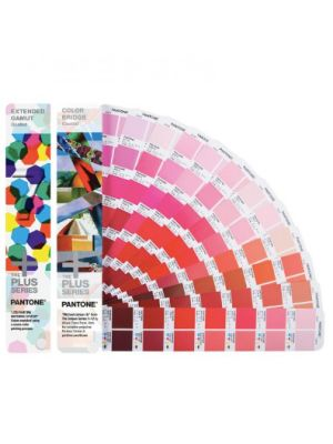 Zestaw wzorników PANTONE Plus Extended Gamut Guide + Color Bridge Coated Guide