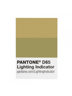 Naklejka PANTONE Lighting Indicator Stickers - LNDS-1PK-D65