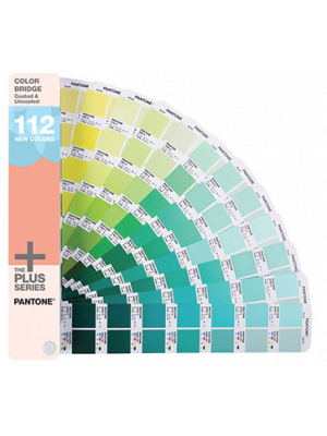 Wzornik PANTONE PLUS Color Bridge Guide coated and uncoated supplement
