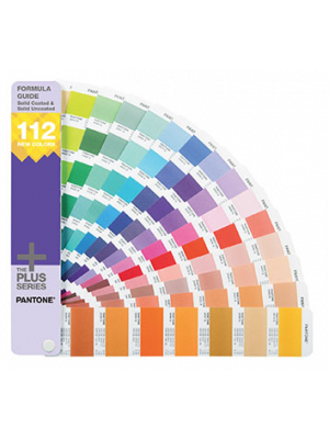 Wzornik PANTONE Plus Formula Guide Coated & Uncoated Supplement